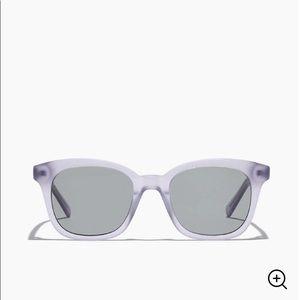 Madewell Sparkle Flat-Frame Sunglasses